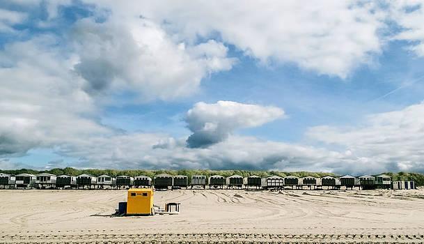 Beach Houses by Yvon van der Wijk