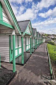 Steve Purnell - Beach Huts Langland Bay Swansea 2