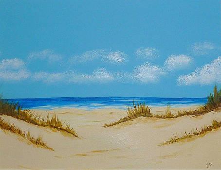 Beach I by Nancy Nuce