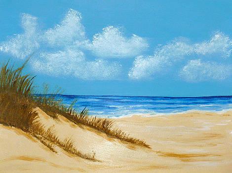 Beach II by Nancy Nuce