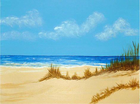 Beach III by Nancy Nuce
