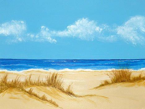 Beach IV by Nancy Nuce