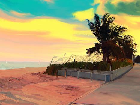 Beach by Magdalena George