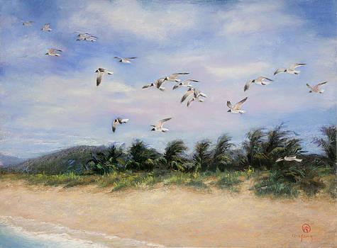Birds in Paradise by Nancy Yang