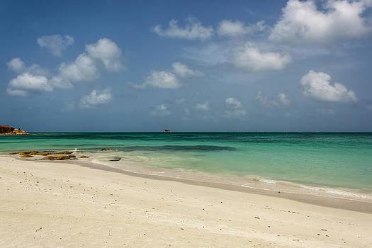 Beach of Antigua by Pier Giorgio Mariani