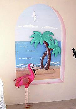 Mural - Beach Patrol by Debbie Kiewiet