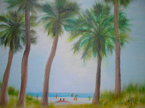 Beach People by Linda Bright Toth