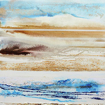 Beach Rhythms and Textures no1a by Mike   Bell