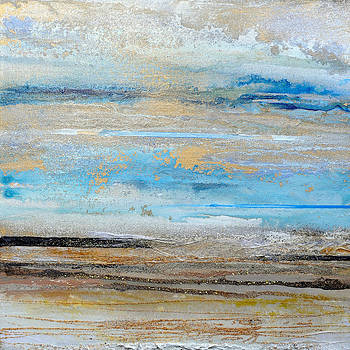 Beach Rhythms and  textures northumberland 1a by Mike   Bell
