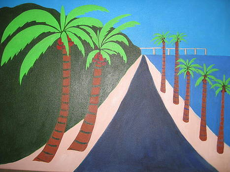 Beach Road by Sandra McHugh
