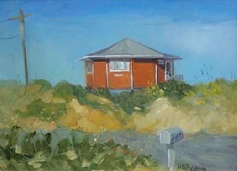Beach Round house by Lisa Godfrey