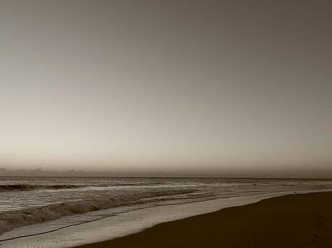 Stuart Brown - Beach Scene # BW