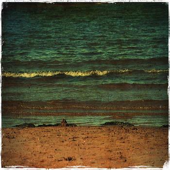 Laura Carter - Beach Scene Ocean Waterfront Photograph Print