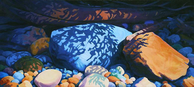 Beach Shadows by Dianne Bersea
