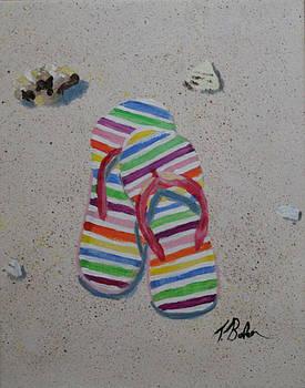 Beach Shoe by Tony Baker