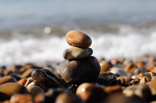 Beach Stones by Ivelin Donchev