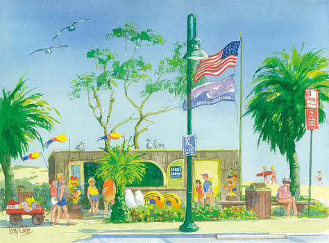 Beach Store by Ray Cole