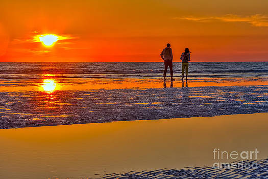 Beach Stroll by Marvin Spates