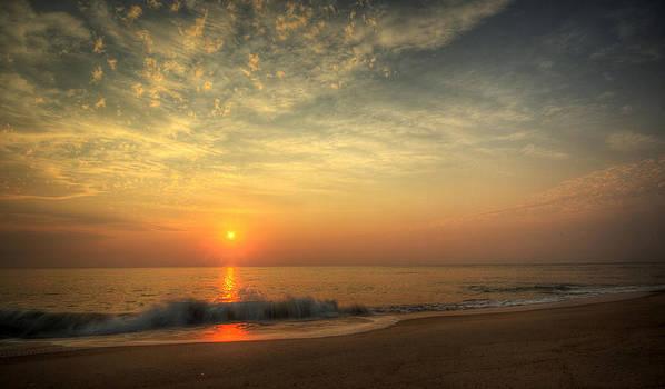 Beach Sunrise by David Dufresne