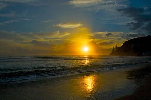 Beach Sunrise by Shane Dickeson