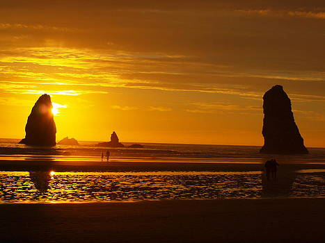 Beach Sunset 3 by Jim Moore