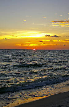 Beach Sunset by Cynthie Cotto