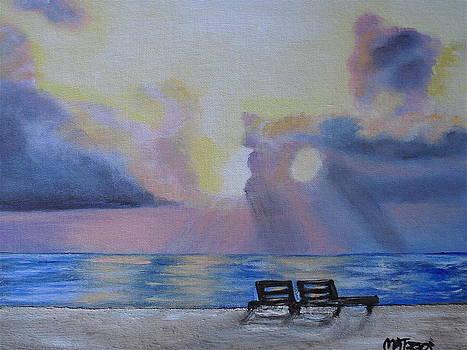 Beach Sunset by Melissa Torres