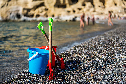 Beach Toys by Luis Alvarenga