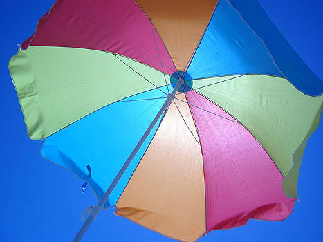 Beach Umbrella by Paul Thomas