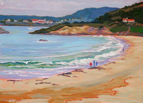 Beach Walk by Rhett Regina Owings