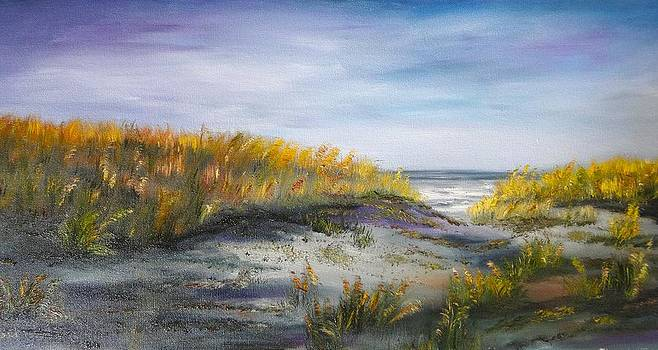 Beach Walkway by Marlyn Boyd