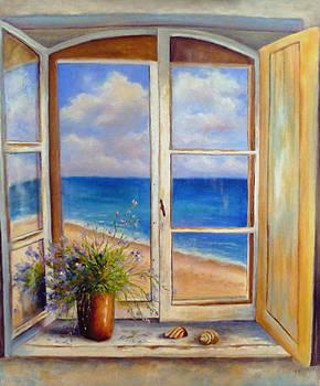 Beach Window by Alexandra Kopp