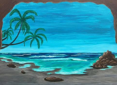Beach Cave 2 by Diana Garcia