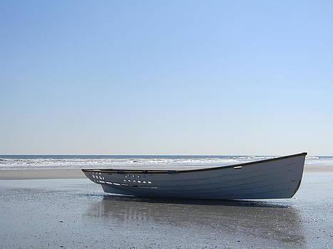 Beached Boat  by Joanne Askew