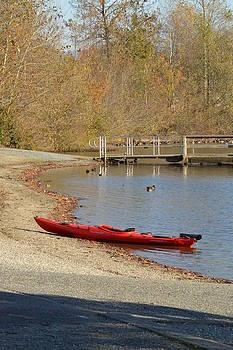 Nicki Bennett - Beached Kayak
