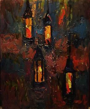 Beacons in the dark by R W Goetting