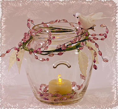 Sandra Foster - Beaded Candle Jar