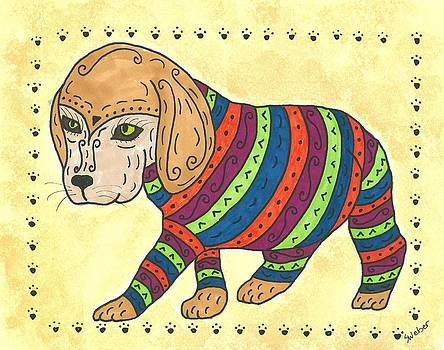 Beagle Sweater by Susie Weber