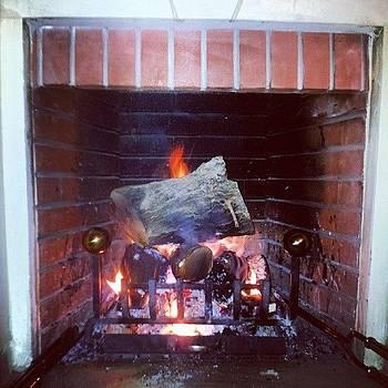 #beamman #fireplace  #winter #fire by Abdelrahman Alawwad
