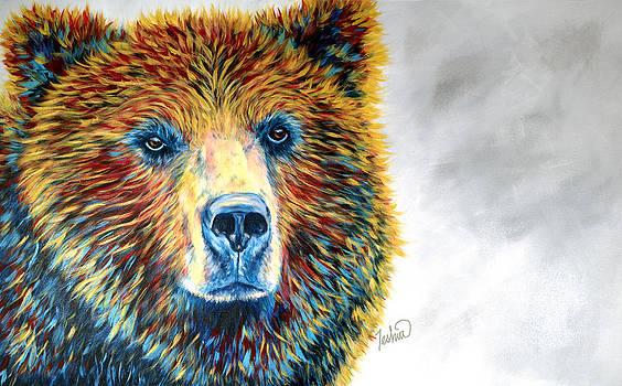 Bear Daze by Teshia Art