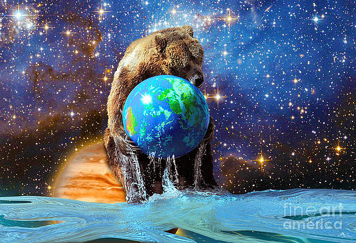 Bear Hug for Planet Earth by Skye Ryan-Evans