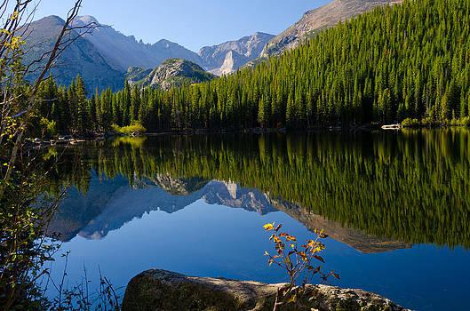 Bear Lake Reflection by John Hoffman