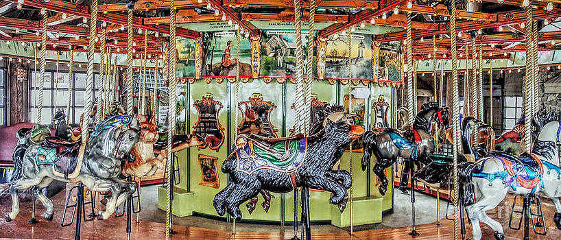 Bear Mountain Carousel by Guy Harnett