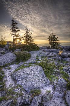 Bear Rocks Sunrise by Michael Donahue