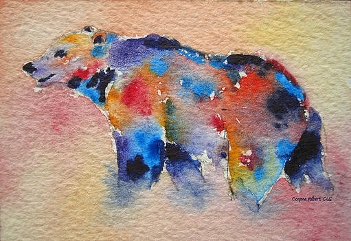 Bear Spirit by Corynne Hilbert
