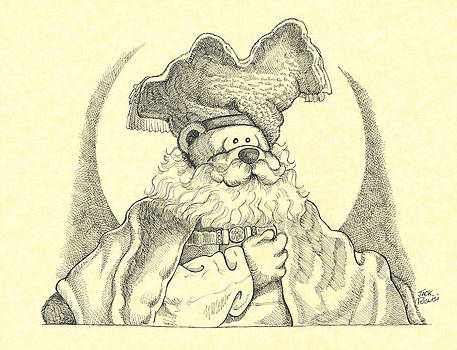 Bear with Beard by Jack Puglisi