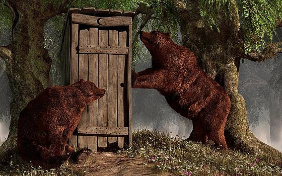 Bears Around The Outhouse by Daniel Eskridge