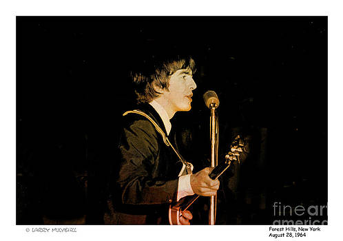 Larry Mulvehill - Beatles George Color