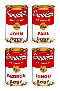 Beatles Soups by Ken Surman