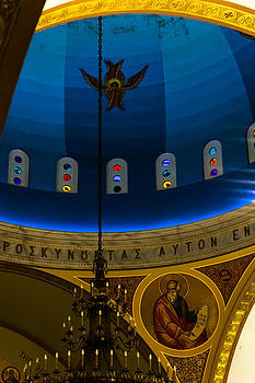 Beautiful Above at St Sophia by Ed Gleichman